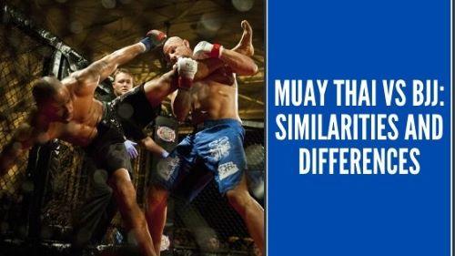 Muay Thai and BJJ